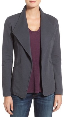 Women's Caslon Cotton Knit Open Front Blazer $59 thestylecure.com