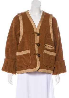 Sonia Rykiel Wool & Cashmere Casual Jacket
