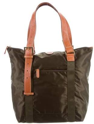 Bric's Leather-Trimmed Tote