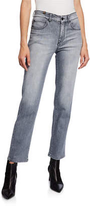 Atelier Notify Aloha Cropped Straight-Leg Jeans