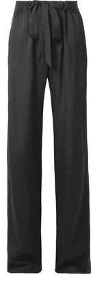 Tom Ford Satin-trimmed Woven Track Pants