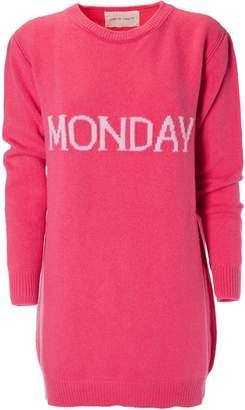 Alberta Ferretti Monday Sweater Dress