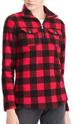 Chaps Women's Printed 1/4-Zip Pullover