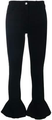 Couture Forte Dei Marmi trumpet hem skinny jeans