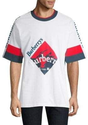 Burberry Roeford Cotton Crest Tee