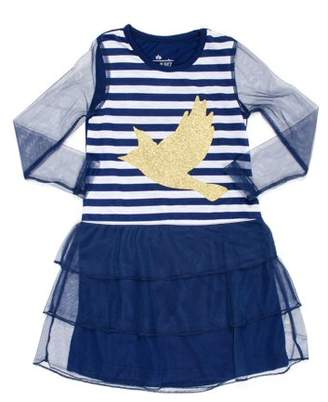 Chloé and Olivia Girl's & Olivia Stripe Bird Princess Fantasy Pajama Gown (Big Girls & Little Girls)