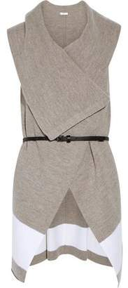 Joie (ジョア) - Joie Ligiere Belted Draped Wool Vest