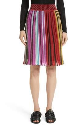 Missoni Metallic Stripe Skirt