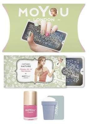 Lime Crime Mother Nature Stamping Nail Art Plate Collection