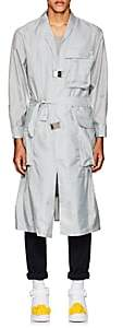 A-Cold-Wall* Men's Belted Utility Coat-Gray Size S