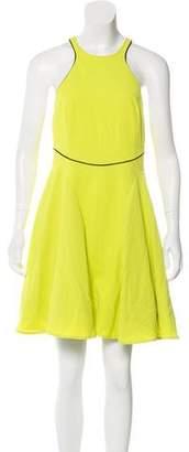 Just Cavalli Flared Mini Dress