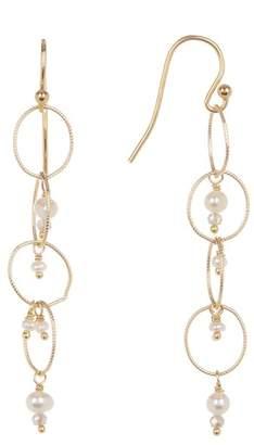 Chan Luu 18K Gold Vermeil Labradorite Earrings