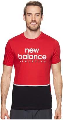 New Balance NB Athletic Liner Tee Men's T Shirt