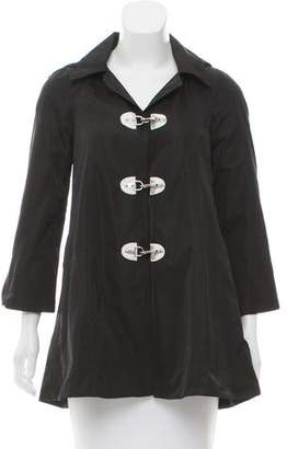 Alice + Olivia Silk Trench Coat