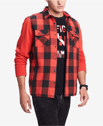 Tommy Hilfiger Men Bowery Classic-Fit Buffalo Plaid Shirt