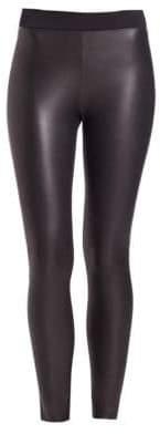 Wolford Lindsey Leather-Look Leggings
