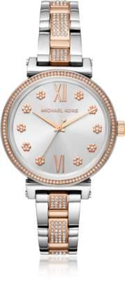 Michael Kors Mid Sofie Two-Tone Women's Watch