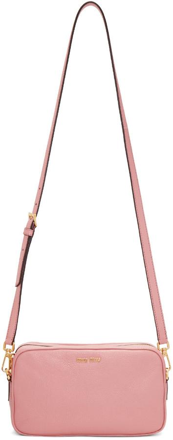 Miu MiuMiu Miu Pink Camera Bag