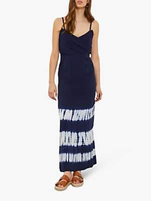 58fe0af6cd4 at John Lewis and Partners · Mint Velvet Della Print Tie Dye Maxi Dress,  Indigo/Multi
