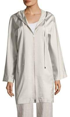 Lafayette 148 New York Niles Satin Spring Jacket