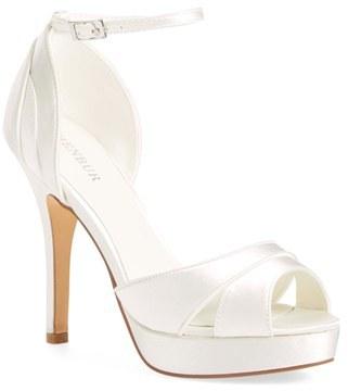 Women's Menbur 'Cassandra' D'Orsay Platform Peep Toe Sandal $134.95 thestylecure.com