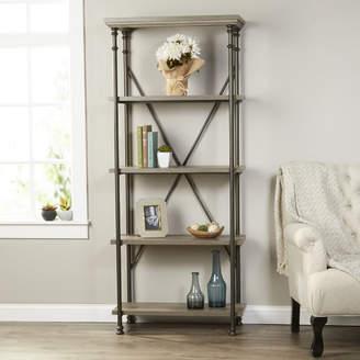 Three Posts Oakside Etagere Bookcase