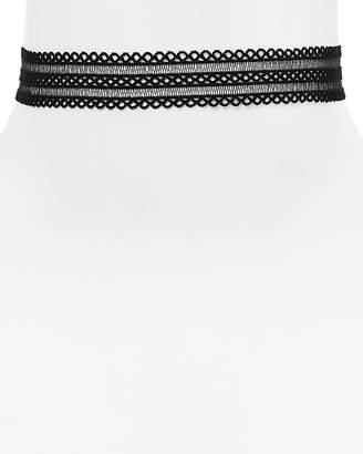 "Aqua Joanie Lace Choker Necklace, 12"" - 100% Exclusive"