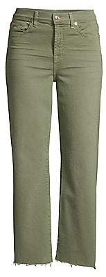 7 For All Mankind Women's Alexa Cropped Jeans