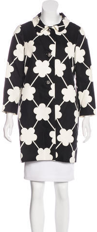 Kate Spade Kate Spade New York Printed Short Coat