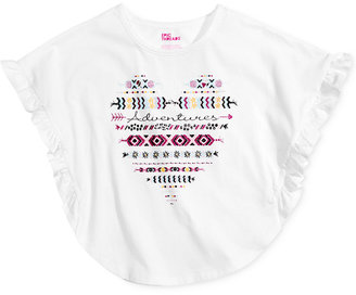 Epic Threads Heart Graphic-Print T-Shirt, Toddler & Little Girls (2T-6X), Only at Macy's $16 thestylecure.com