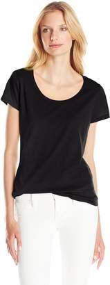 Threads 4 Thought Women's Sasha Basic Short Sleeve Scoop Neck Tee