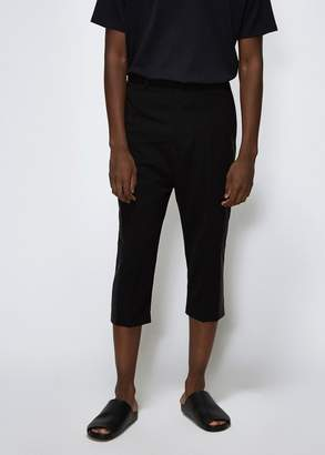Rick Owens Tux Cropped Astaires Pant