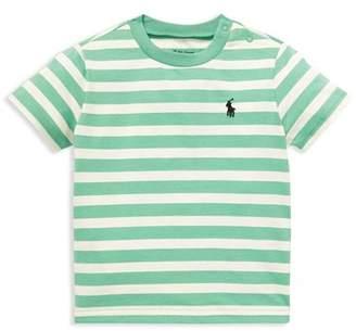 Ralph Lauren Boys' Striped Cotton Jersey Tee - Baby