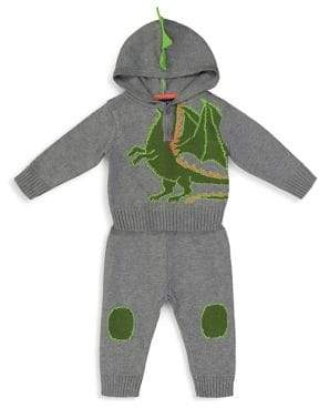 Andy & Evan Baby Boy's Two-Piece Dragon Sweater Knit Set