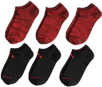 adidas Boys 4-20 6-Pack Superlite No-Show Socks