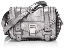 Proenza Schouler Mini Metallic Leather Crossbody Bag
