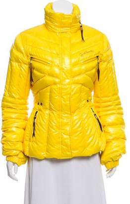 Just Cavalli Quilted Down Jacket