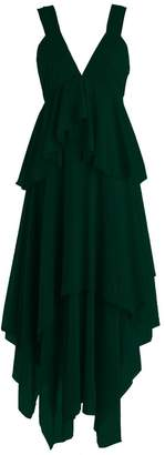 MittyDresses Short V-neck Evening Dress Prom Dresses 2016 Size 26W US