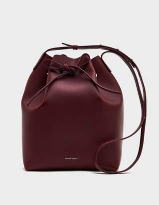 Mansur Gavriel Bucket Bag in Bordo