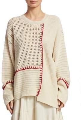 Elizabeth and James Lois Crochet Knit Sweater