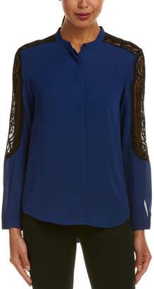 The Kooples Lace Yoke Shirt