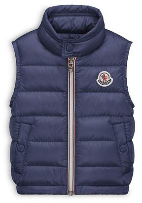 Moncler Boys' Amaury Puffer Vest - Baby $195 thestylecure.com