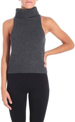 Lamberto Losani Turtleneck Tank Top