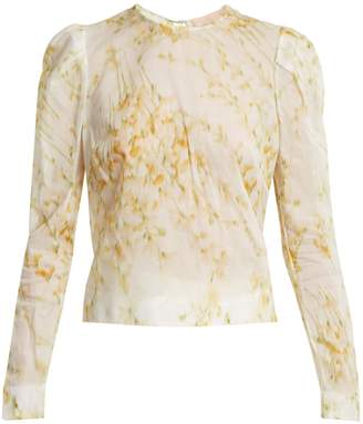Brock Collection Babette sweet-pea print blouse
