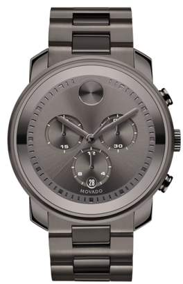 Movado Bold Chronograph Bracelet Watch, 44mm