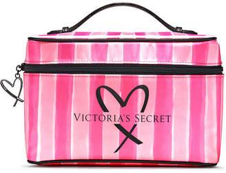 Victoria's Secret Victorias Secret Signature Stripe Weekender Train Case