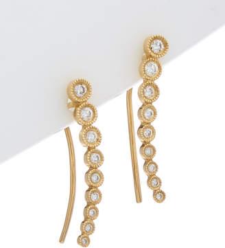 Jewels By Lori Kassin 14K 0.22 Ct. Tw. Diamond Ear Jackets