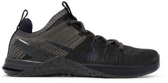 Nike Training Metcon Dsx 2 Flyknit And Rubber Sneakers