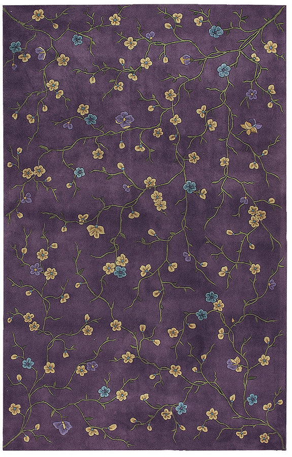 Nourison Area Rug, Julian JL27 Lavender 7' 6