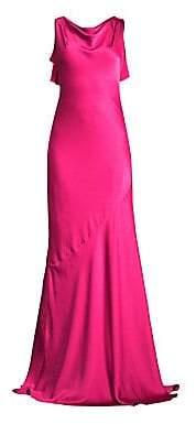 Rachel Zoe Women's Ami Cowlneck Sleeveless A-Line Gown - Size 0